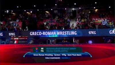 Replay: Mat C - 2021 Senior World Championships | Oct 8 @ 5 PM