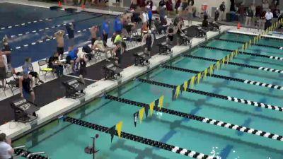 Purdue Invite, Women 100 Free A Final
