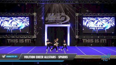 Volition Cheer Allstars - Sparks [2021 Mini - Hip Hop Day 2] 2021 The U.S. Finals: Ocean City