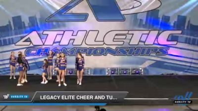 Legacy Elite Cheer and Tumble - Junior Vendetta [2021 L4 Junior - D2 Day 1] 2021 Athletic Championships: Chattanooga DI & DII