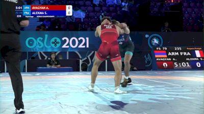 79 kg Repechage #2 - Arman Avagyan, Armenia vs Saifedine Alekma, France