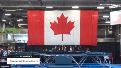 Arruda/ Love - Trampoline, Skyriders - 2019 Elite Canada T and G