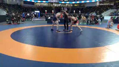 82 kg Quarterfinal - Peyton Walsh, United States Marines vs Kyle Briggs, Iowa