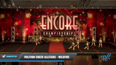 Volition Cheer Allstars - Wildfire [2021 L1 Youth - D2 Day 2] 2021 Encore Championships: Pittsburgh Area DI & DII