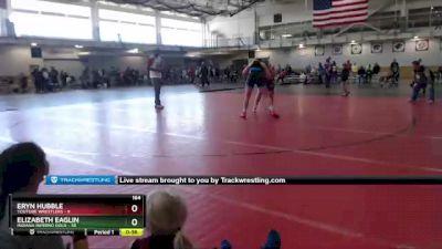 164 lbs Round 2 (4 Team) - Elizabeth Eaglin, Indiana INFERNO GOLD vs Eryn Hubble, Youtube Wrestlers