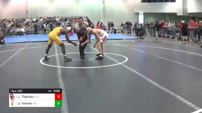 157 lbs Consolation - Justin Thomas, Oklahoma vs Jacori Teemer, Arizona State