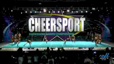 Top Gun All Stars - Ohio - Royal Jags [2021 L6 Senior Coed Open - Small Day 2] 2021 CHEERSPORT National Cheerleading Championship