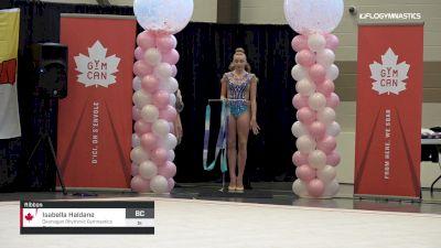 Isabella Haldane - Ribbon, Okanagan Rhythmic Gymnastics Club - 2019 Elite Canada - Rhythmic