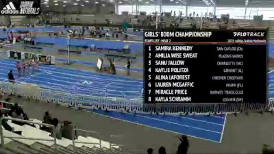 High School Girls' 800m Championship, Heat 2
