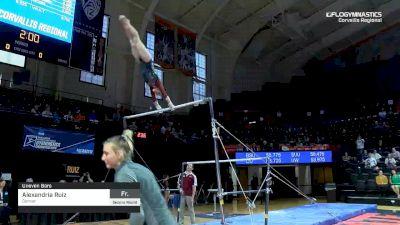Alexandria Ruiz - Bars, Denver - 2019 NCAA Gymnastics Regional Championships - Oregon State