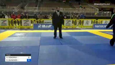 AMY KONOPKA vs ROBERTA QUINONES 2020 World Master IBJJF Jiu-Jitsu Championship