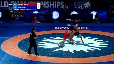 60 kg Repechage #3 - Edmond Armen Nazaryan, Bulgaria vs Mert Ilbars, Turkey