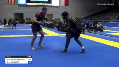 JOSEPH OTHMAR DIERKHISING vs DEVHONTE M. JOHNSON 2021 World IBJJF Jiu-Jitsu No-Gi Championship