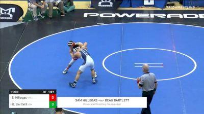 138 lbs Final - Sam Hillegas, North Hills vs Beau Bartlett, Wyoming Seminary