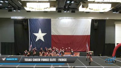 Texas Cheer Force Elite - FIERCE [2021 L3 Junior - D2 - B Day 1] 2021 ACP Power Dance Nationals & TX State Championship
