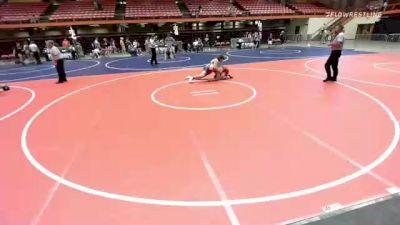 160 lbs Rr Rnd 5 - Isaac White, Cozad Haymaker Wrestling vs Thomas Lokken, Team Zapas