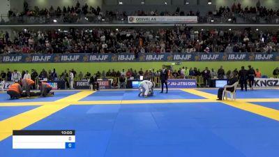 SANTERI LILIUS vs BRUNO FILIPE SANTOS LIMA 2020 European Jiu-Jitsu IBJJF Championship