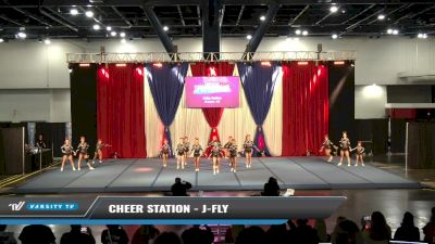Cheer Station - J-Fly [2021 L5 Junior - D2 Day 1] 2021 The American Spectacular DI & DII