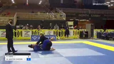 REBECCA FARIS vs MARYANNA SANTOS CARDOSO 2021 Pan Jiu-Jitsu IBJJF Championship