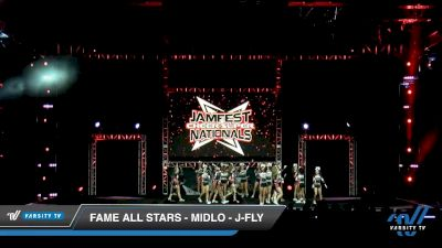FAME All Stars - Midlo - J-Fly [2020 L6 Junior Coed - Small Day 2] 2020 JAMfest Cheer Super Nationals
