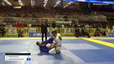 ADAM WARDZINSKI vs RAFAEL VASCONCELOS DE LIMA 2021 Pan Jiu-Jitsu IBJJF Championship
