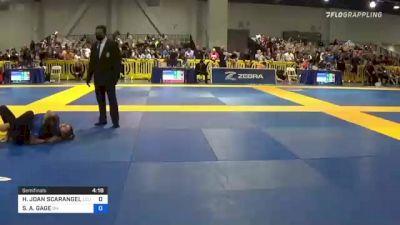 HAILEE JOAN SCARANGELLO vs SELINE A. GAGE 2021 American National IBJJF Jiu-Jitsu Championship