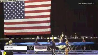 Ben Adams - Individual Trampoline, Sonshine Gymnastics. - 2021 USA Gymnastics Championships