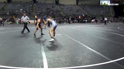 197 lbs 3rd Place - Connor Kirkland, Western Wyoming vs Hunter Harnish, Mercyhurst