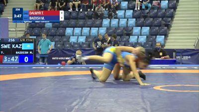 57 kg 1/8 Final - Tindra Olivia Dalmyr, Sweden vs Madina Baidish, Kazakhstan