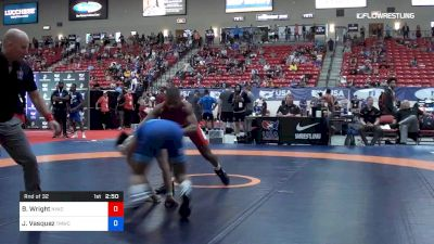 65 kg Rnd Of 32 - Brandon Wright, NYAC vs Jesse Vasquez, TMWC