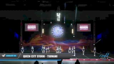 Queen City Storm - Tsunami [2021 L3 Junior - D2 - Small Day 2] 2021 GLCC: The Showdown Grand Nationals