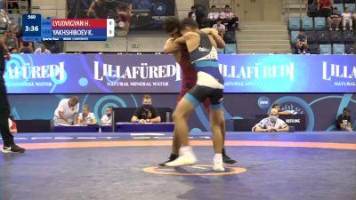 51 kg 1/4 Final - Hayk Lyudvigyan, Armenia vs Kuvonchbek Yakhshiboev, Uzbekistan