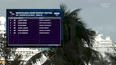 Tina Hills   2.22.2020   Masters Men 40-44   Down-Up   Heat 6