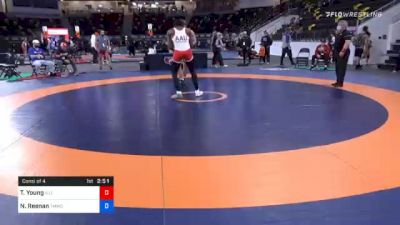87 kg Consolation - Timothy Young, Illinois vs Nick Reenan, TMWC/ Wolfpack Wrestling Club