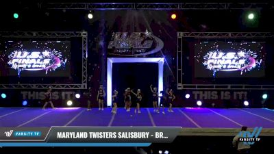 Maryland Twisters Salisbury - Breeze Babes [2021 L1 Mini - Novice Day 1] 2021 The U.S. Finals: Ocean City