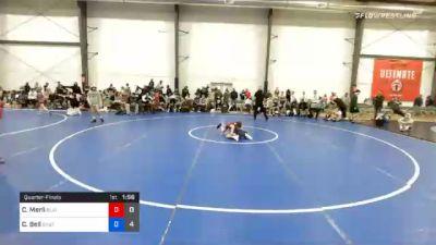 36 kg Quarterfinal - Cooper Merli, Blairstown Wrestling Club vs Case Bell, Team Shutt