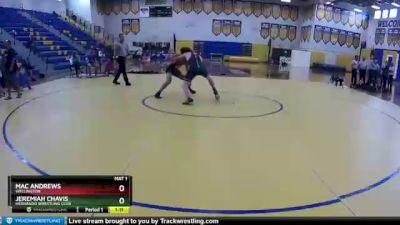 145 lbs Round 5 - Jeremiah Chavis, Hernando Wrestling Club vs Mac Andrews, Wellington