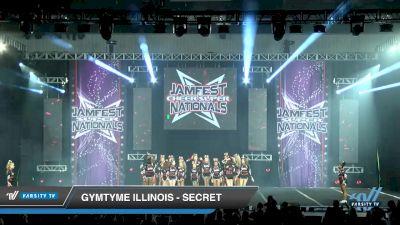GymTyme Illinois - Secret [2020 L3 Junior - Medium - A Day 1] 2020 JAMfest Cheer Super Nationals