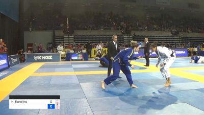 Nathiely de Jesus vs Alison Tremblay 2019 Pan Jiu-Jitsu IBJJF Championship