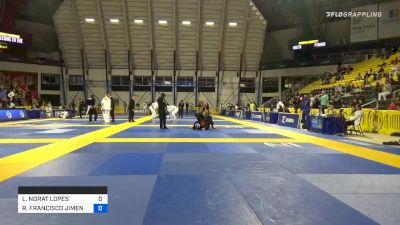 LUCAS NORAT LOPES vs ROBERTO JIMENEZ 2019 Long Beach International Open IBJJF Jiu-Jitsu Championship