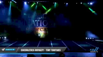 Cheerletics Royalty - TINY TOOTSIES [2021 L1 Tiny Day 2] 2021 Cheer Ltd Nationals at CANAM