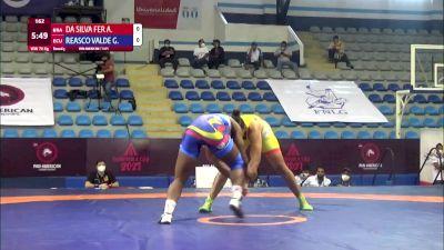 76 kg Rr Rnd 3 - Aline Da Silva Ferreira, Brazil vs Genesis Rosangela Reasco Valdez, Ecuador