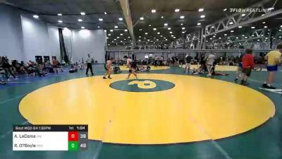 Quarterfinal - Aiden LaComa, Virginia Elite vs Riley O?Boyle, Rams Wrestling Club