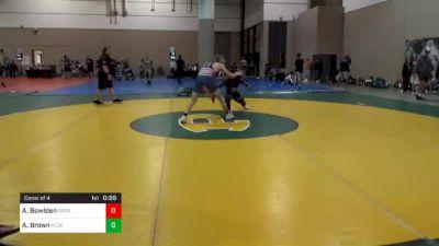 152 lbs Consolation - Austin Bowlden, Georgia vs Antonio Brown, Florida