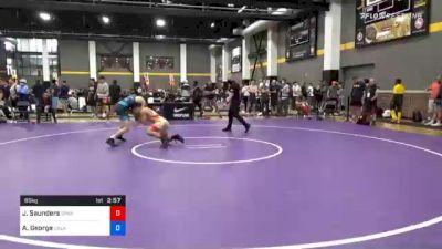65 kg Prelims - Joshua Saunders, Spartan Combat RTC vs Antonio George, Oklahoma Regional Training Center