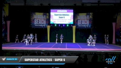 Superstar Athletics - Super 6 [2021 L6 International Open Coed - Small Day 1] 2021 ACDA: Reach The Beach Nationals
