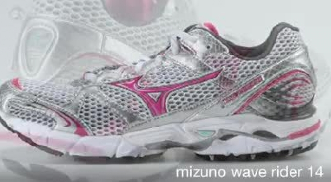 mizuno wave rider 14 women's