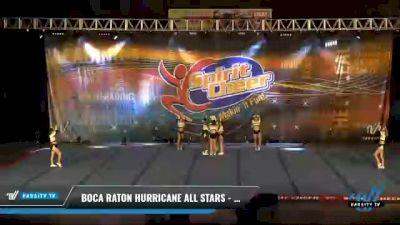 Boca Raton Hurricane All Stars - TIGER SHARKS [2021 L2 Senior - D2 Day 2] 2021 South Florida DI & DII Nationals