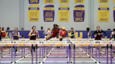 2021 LHSAA Indoor Championships - Horizontal Jumps Replay