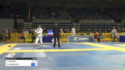 JOSEPH KAHAWAI vs RICARDO FERREIRA EVANGELISTA 2018 Pan Jiu-Jitsu IBJJF Championship